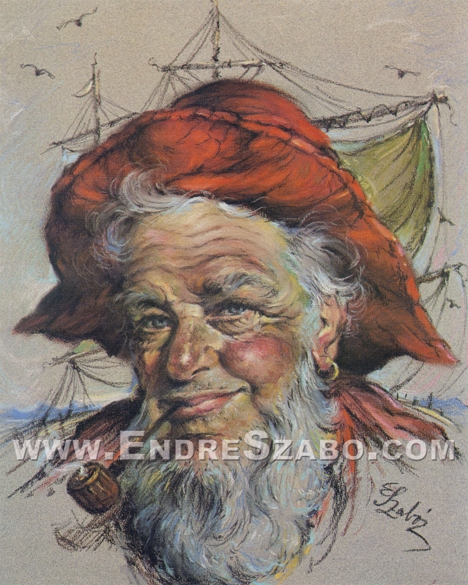 The Fisherman, Lithographic Print